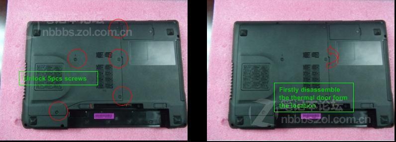 联想y450拆机教程_自己动手修笔记本——联想Y470详细拆机教程_郑州电脑医院